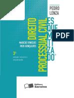 direito processual civil esquematizado - 3ª edição - ano 2013