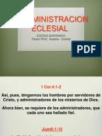 La Administracion Eclesia. Argentina