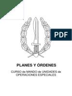 Plane y Ordenes
