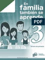 En Familia Tambien Se Aprende 2011 Tercero Diarioeducacion.com