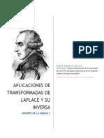 Transformada de Laplace y su Inversa