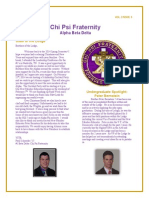 Chi Psi Alumni Newsletter