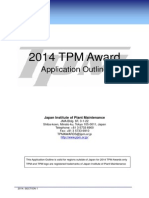 TPM 2014 Award Guidelines
