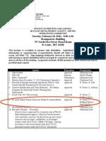 St. Louis BRT Recommendations Feb 2014