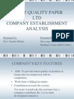 Cf_finest Quality Paper Ltd