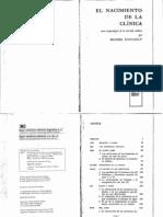 29074450 Foucault El Nacimiento de La Clinica