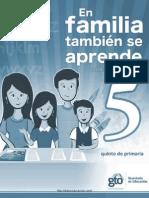 En Familia Tambien Se Aprende 2011 Quinto Diarioeducacion.com