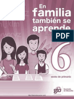 En Familia Tambien Se Aprende 2011 Sexto Diarioeducacion.com