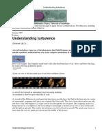 Understanding Turbulence