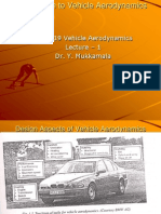 Introduction to Vehicle Aerodynamics