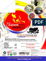 1st Regional ASEAN Conference on Animal Production 2014