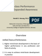 Expanded Awareness & Better Performance