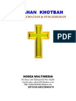 29 Bahan Khotbah Ibadah Kematian Dan Penghiburan