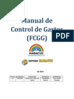 00. Manual de Control de Gastos (FCGG)