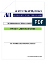 PhD Research Proposal AIT TOOLKIT