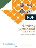 Nutrición sobrevivientes de cáncer