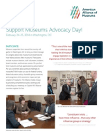 Museums Advocacy Day 2014