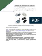 Todo sobre gestión de librerías en Arduino by Opiron
