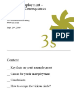 Youth Unemployment – Causes and Consequences