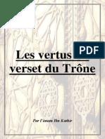 Les Vertus_Du Verset Du Trone_IbnKATHIR