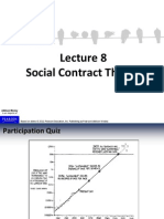 Lecture about Social Contract Theory
