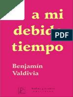 Benjamin Valdivia-A Mi Debido Tiempo