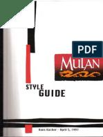 Mulan Style Guide