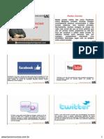 Redes Sociais Slide