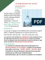 Réactions de déshydratation des alcools.pdf