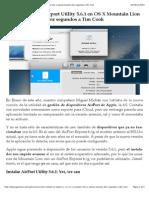 Cómo instalar la Airport Utility 5.6.1 en OS X Mountain Lion y cabrear durante diez segundos a Tim Cook.pdf