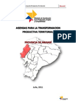Agenda Territorial Manabi