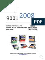 Guia 04 Auditoria de Las Comunicaciones Con Los Cl