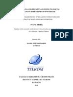 Skripsi-perancangan Sistem Telemetri Suhu Ruangan