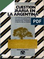 SALINAS_La Cuestion Agraria en Argentina