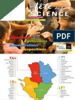 Programme de la Fête de la science 2009 en Poitou-Charentes