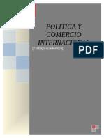 Politica Comercial e Internacional