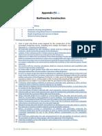 Checklist for earthworks