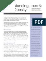 Understanding Adult Obesity