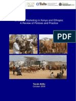 Livestock Marketing in Kenya and Ethiopia