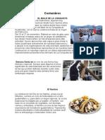 Costumbres y Tradiciones de Guate