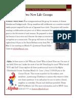 Newsletter - February 2014