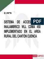 7-Etapa Cdma 450 Cancun