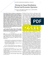 Dynamic Pricing for Smart Distribution Networks Efficient and Economic Operation