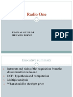 M&a Case 1 - Radio One Group2