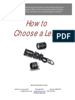 How to Choose a Lens