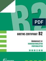 Goethe Certificat B2