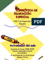 Aula Específica de Educación Especial Requena