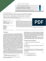 J Proc Ctrl Vol 19 2009 Q Wang K Astrom - Guaranteed Dominant Pole Placement