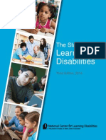 2014 State of Learning Disabilities