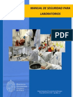 Manual de Seguridad Para Laboratorios (Actualizado)